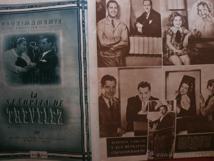 Cine: CINEGRAMAS Nº81.1936.IMPERIO ARGENTINA.ANA PAVLOVA,RICARDO NUÑEZ,MARY-LOLI HIGUERAS,MARLENE DIETRICH - Foto 11 - 41727212