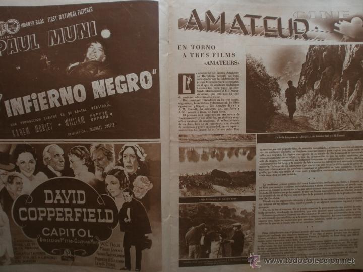 Cine: CINEGRAMAS Nº81.1936.IMPERIO ARGENTINA.ANA PAVLOVA,RICARDO NUÑEZ,MARY-LOLI HIGUERAS,MARLENE DIETRICH - Foto 12 - 41727212