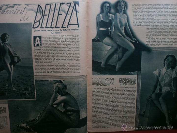 Cine: CINEGRAMAS Nº81.1936.IMPERIO ARGENTINA.ANA PAVLOVA,RICARDO NUÑEZ,MARY-LOLI HIGUERAS,MARLENE DIETRICH - Foto 14 - 41727212