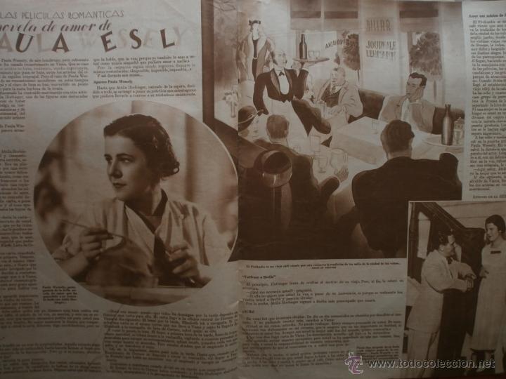 Cine: CINEGRAMAS Nº81.1936.IMPERIO ARGENTINA.ANA PAVLOVA,RICARDO NUÑEZ,MARY-LOLI HIGUERAS,MARLENE DIETRICH - Foto 15 - 41727212