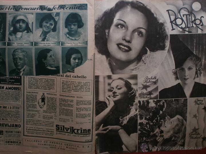 Cine: CINEGRAMAS Nº81.1936.IMPERIO ARGENTINA.ANA PAVLOVA,RICARDO NUÑEZ,MARY-LOLI HIGUERAS,MARLENE DIETRICH - Foto 16 - 41727212
