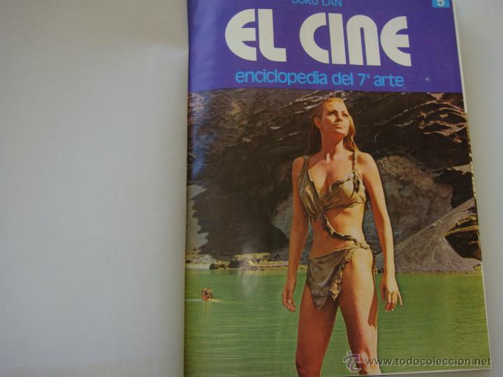 TOMO CON 20 FASCICULOS DE ENCICLOPEDIA EL 7 ARTE DE BURU LAN (Cine - Revistas - Otros)