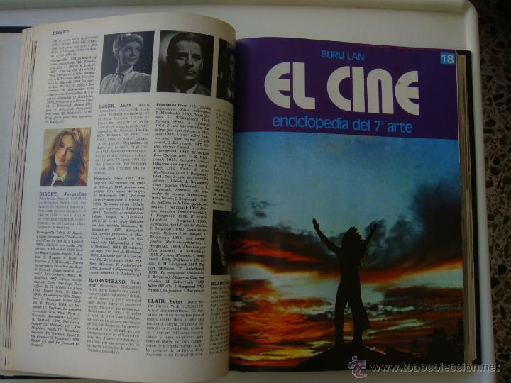 Cine: tomo con 20 fasciculos de enciclopedia el 7 arte de buru lan - Foto 3 - 41785758