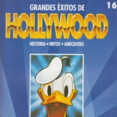 Cine: GRANDES ÉXITOS DE HOLLYWOOD Nº 16 - HOLLYWOOD SUEÑA EN COLOR - PLANETA AGOSTIN - 17 PAGS.. Lote 41794316