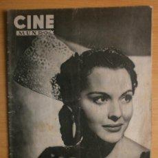 Cine: CINE MUNDO Nº12 EXTRAORDINARIO DEDICADO A CANNES.1952.PAQUITA RICO.LOUIS JOURDAN,HUMPHREY BOGART.. Lote 41796331