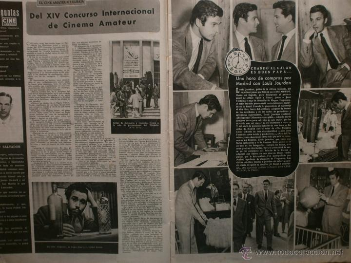 Cine: CINE MUNDO Nº12 EXTRAORDINARIO DEDICADO A CANNES.1952.PAQUITA RICO.LOUIS JOURDAN,HUMPHREY BOGART. - Foto 2 - 41796331