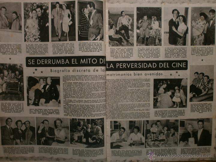 Cine: CINE MUNDO Nº12 EXTRAORDINARIO DEDICADO A CANNES.1952.PAQUITA RICO.LOUIS JOURDAN,HUMPHREY BOGART. - Foto 3 - 41796331