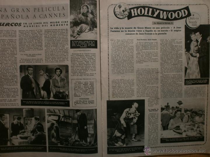 Cine: CINE MUNDO Nº12 EXTRAORDINARIO DEDICADO A CANNES.1952.PAQUITA RICO.LOUIS JOURDAN,HUMPHREY BOGART. - Foto 7 - 41796331