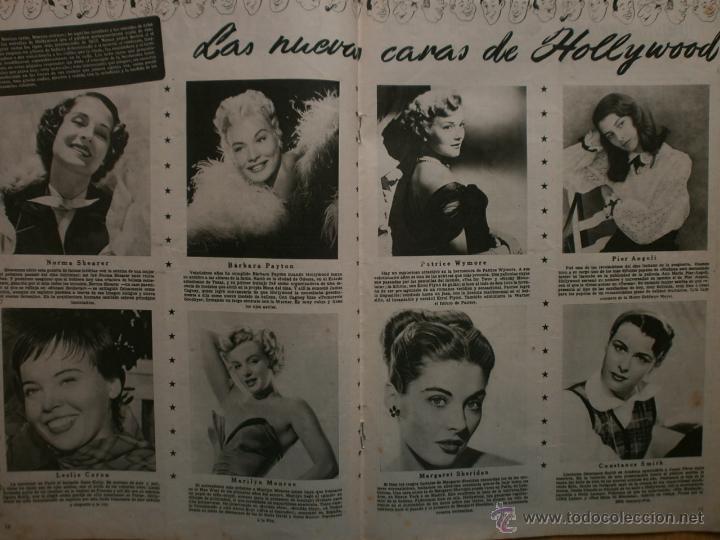 Cine: CINE MUNDO Nº12 EXTRAORDINARIO DEDICADO A CANNES.1952.PAQUITA RICO.LOUIS JOURDAN,HUMPHREY BOGART. - Foto 8 - 41796331