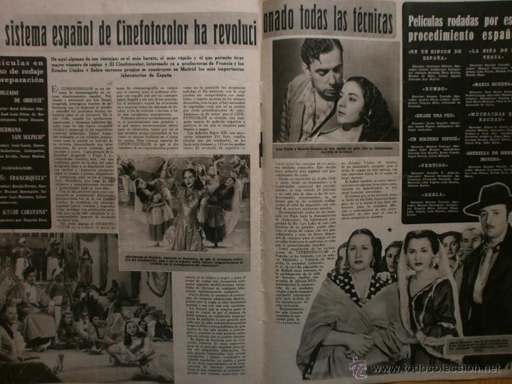 Cine: CINE MUNDO Nº12 EXTRAORDINARIO DEDICADO A CANNES.1952.PAQUITA RICO.LOUIS JOURDAN,HUMPHREY BOGART. - Foto 11 - 41796331