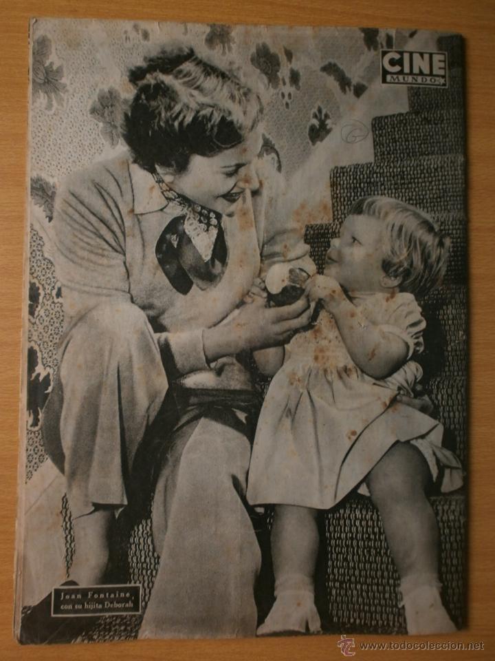 Cine: CINE MUNDO Nº12 EXTRAORDINARIO DEDICADO A CANNES.1952.PAQUITA RICO.LOUIS JOURDAN,HUMPHREY BOGART. - Foto 12 - 41796331