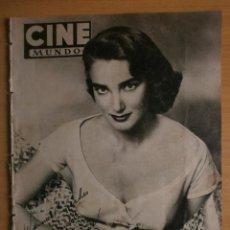 Cinema: CINE MUNDO Nº73.1953.JULIA ADAMS.SUSAN HAYWARD,LANA TURNER,CORNEL WILDE,ERROL FLYNN,BEGUM-KHAN.. Lote 41796615