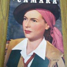 Cine: CAMARA - Nº 158 AÑO IX 1 AGOSTO 1949 - PORTADA MARIE DEA. Lote 41814152