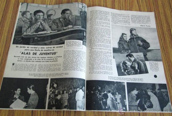 Cine: CAMARA - nº 158 año IX 1 agosto 1949 - Portada Marie Dea - Foto 3 - 41814152