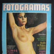 Cine: NUEVO FOTOGRAMAS Nº 1459. 1 OCT.1976.CORINNE CLERY.ANGELA MOLINA. PAULA PATTIER.. Lote 41843386