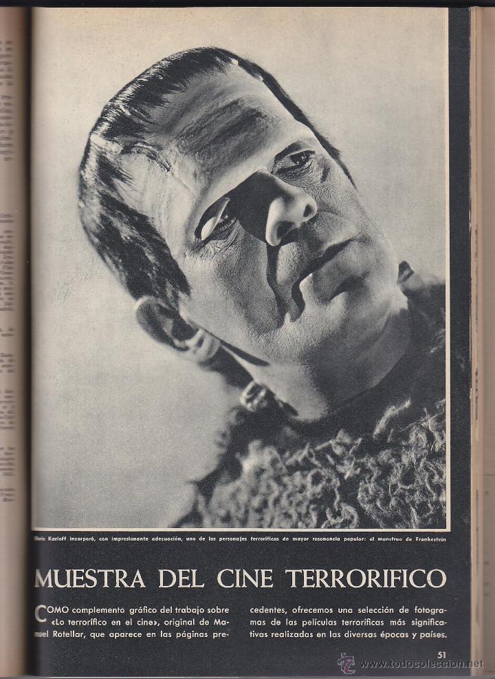 Cine: REVISTA INTERNACIONAL DEL CINE - ENCICLOPEDIA CINEMATOGRÀFICA - 43 NÚMEROS - Foto 2 - 32619944