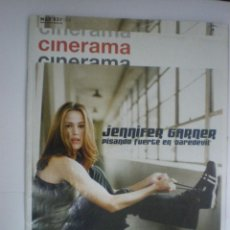Cine: CINERAMA. REVISTA DE CINE.Nº 104. MARZO 2003. JENNIFER GARNER/BRIDGET MOYNAHAN/GEORGE CLOONEY. Lote 41865301
