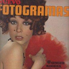 Cine: REVISTA NUEVO FOTOGRAMAS - Nº 1072 - AÑO 1969 - Mª JOSÉ GOYANES - GINGER ROGERS - CHICHO - 47 PAGS. Lote 41873951