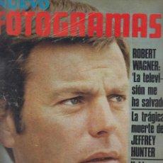 Cine: REVISTA NUEVO FOTOGRAMAS - Nº 1077 - AÑO 1969 - ROBERT WAGNER - JEFFREY HUNTER - 47 PAGS. Lote 41874399