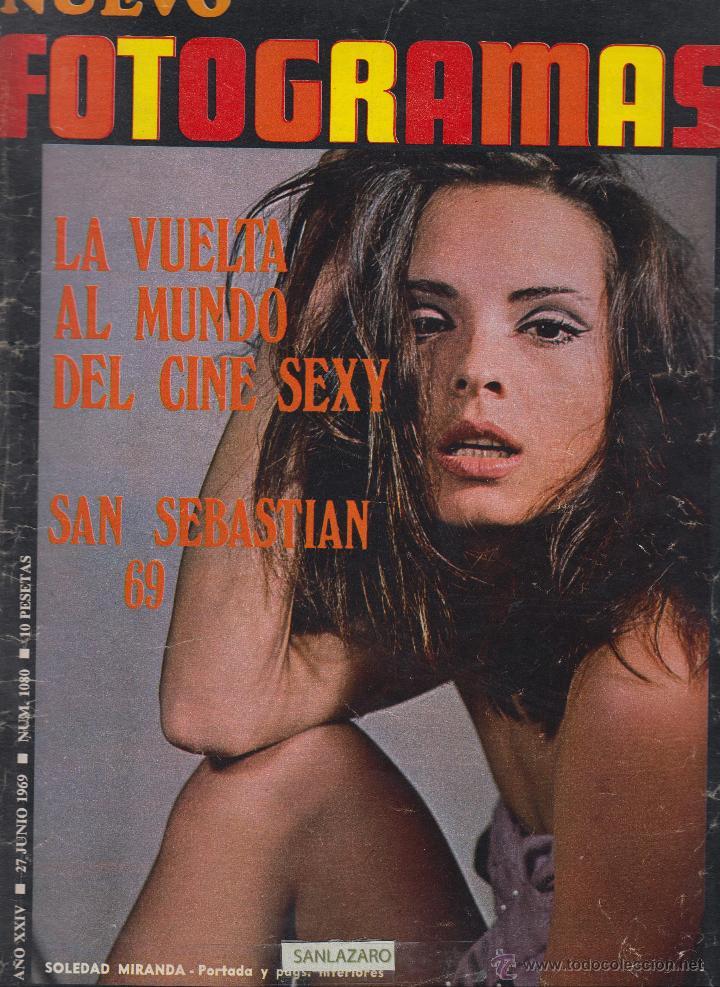 REVISTA NUEVO FOTOGRAMAS - Nº 1080 - AÑO 1969 - SOLEDAD MIRANDA - SAN SEBASTIAN 69 - 47 PAGS (Cine - Revistas - Fotogramas)