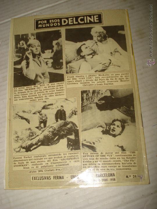 Cine: Antigua Revista para Mayores Colección CINECOLOR con PAUL NEWMAN - Año 1958 - Foto 2 - 41969684