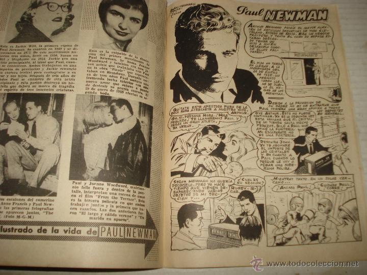 Cine: Antigua Revista para Mayores Colección CINECOLOR con PAUL NEWMAN - Año 1958 - Foto 3 - 41969684
