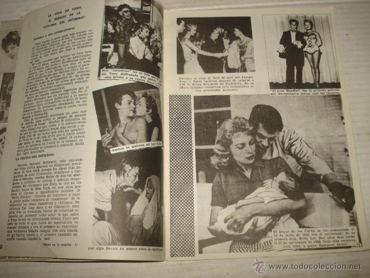 Cine: Antigua Revista para Mayores Colección CINECOLOR con TONY CURTIS - Año 1958 - Foto 3 - 41969858