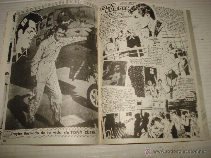 Cine: Antigua Revista para Mayores Colección CINECOLOR con TONY CURTIS - Año 1958 - Foto 4 - 41969858