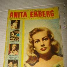 Cine: ANTIGUA REVISTA PARA MAYORES COLECCIÓN CINECOLOR CON ANITA EKBERG - AÑO 1958. Lote 41969908