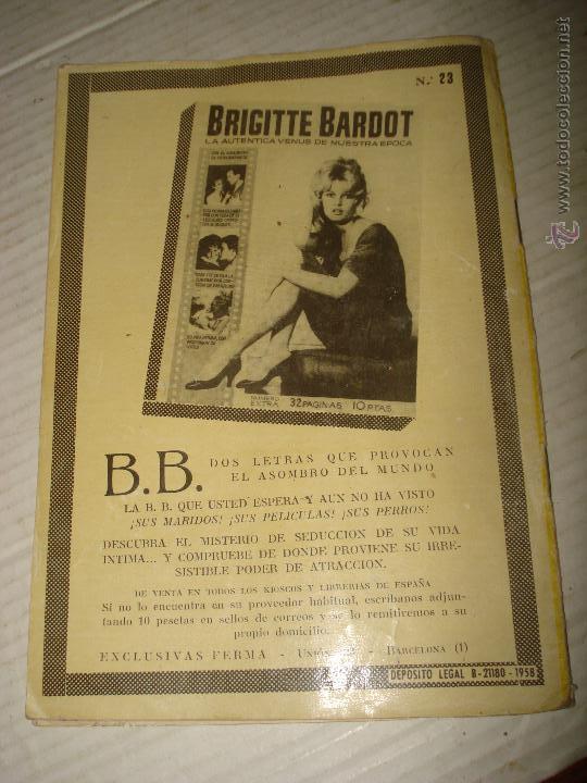 Cine: Antigua Revista para Mayores Colección CINECOLOR con ANITA EKBERG - Año 1958 - Foto 2 - 41969908