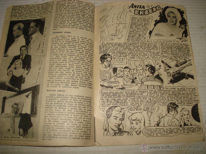 Cine: Antigua Revista para Mayores Colección CINECOLOR con ANITA EKBERG - Año 1958 - Foto 4 - 41969908