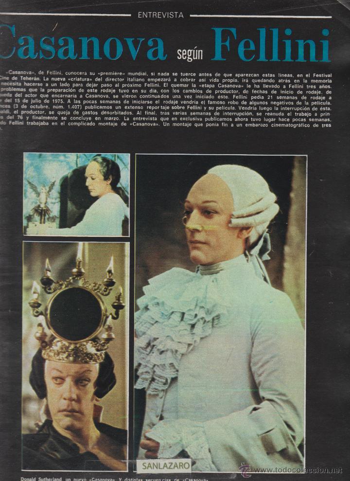 Cine: REVISTA NUEVO FOTOGRAMAS - Nº 1469 - AÑO 1976-EXTRA CALENDARIO 77- NADIUSKA-ROSA VALENTI- 47 PAG. - Foto 2 - 42126271