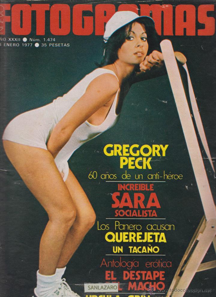 REVISTA NUEVO FOTOGRAMAS - Nº 1474 - AÑO 1977-SARA MONTIEL-G.PECK-N.ESPERT-47 PAG. (Cine - Revistas - Fotogramas)