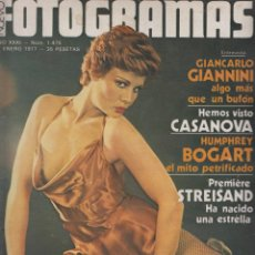 Cine: REVISTA NUEVO FOTOGRAMAS - Nº 1475 - AÑO 1977- ROSA VALENTI- B.STREISAND-H.BOGART- 47 PAG.. Lote 42128235