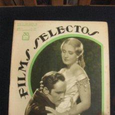 Cine: FILMS SELECTOS Nº 154.23 SEPT. 1933.SUPLEMENTO ARTISTICO MARY PICKFORD... Lote 42165112