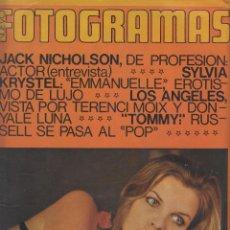 Cine: REVISTA NUEVO FOTOGRAMAS - Nº1349 - AÑO 1974 -J.NICHOLSON-CAMILO SESTO-M.OLDFIELD-E.PONCELA-55 PAG.. Lote 42217381