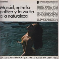 Cine: REVISTA NUEVO FOTOGRAMAS- Nº1458 - AÑO 1976-S.SEBASTIAN 76-MASSIEL-SERRAT-47 PAG.. Lote 42237728
