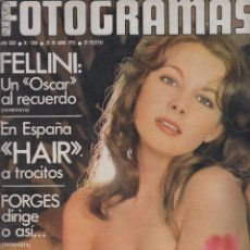 Cine: REVISTA NUEVO FOTOGRAMAS- Nº1384- AÑO1975-INMA DE SANTIS-FELLINI-FORGES-ESTHER WILLIAMS- 47 PAG.. Lote 42277627