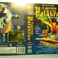 Cine: CARATULA VIDEO VHS EL GUARDIAN DE LAS PALABRAS.- MACAULAY CULKIN. Lote 180168295
