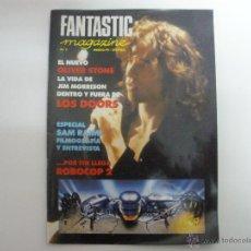 Cine: REVISTA FANTASTIC MAGAZINE Nº 7 MARZO 1991 SAM RAIMI THE DOORS DEPREDADOR ROBOCOP. Lote 42406329