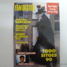Cine: REVISTA FANTASTIC MAGAZINE Nº 4 DICIEMBRE 1990 DARKMAN SITGES 90. Lote 42406443