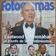 Cine: SUPLEMENTO DE LA REVISTA FOTOGRAMAS Nº 1937 - OSCAR MARZO 2004. EASTWOOD Y AMENÁBAR.. Lote 42430989