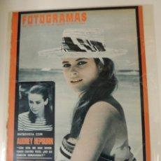 Cine: REVISTA FOTOGRAMAS Nº 984 - 1967 - LUCIANA PALUZZI (PORTADA) - AUDREY HEPBURN. Lote 42559575