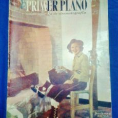 Cine: REVISTA - PRIMER PLANO - Nº 314 - JEAN ROGERS - GREGORY PECK - VER FOTO - AÑO 1946 - . Lote 42567255