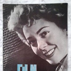 Cine: FILM IDEAL - Nº 43 - 1960 - SILVIA PINAL, NEORREALISMO, CINE ESPAÑOL, CINE POLICIACO. Lote 42668497