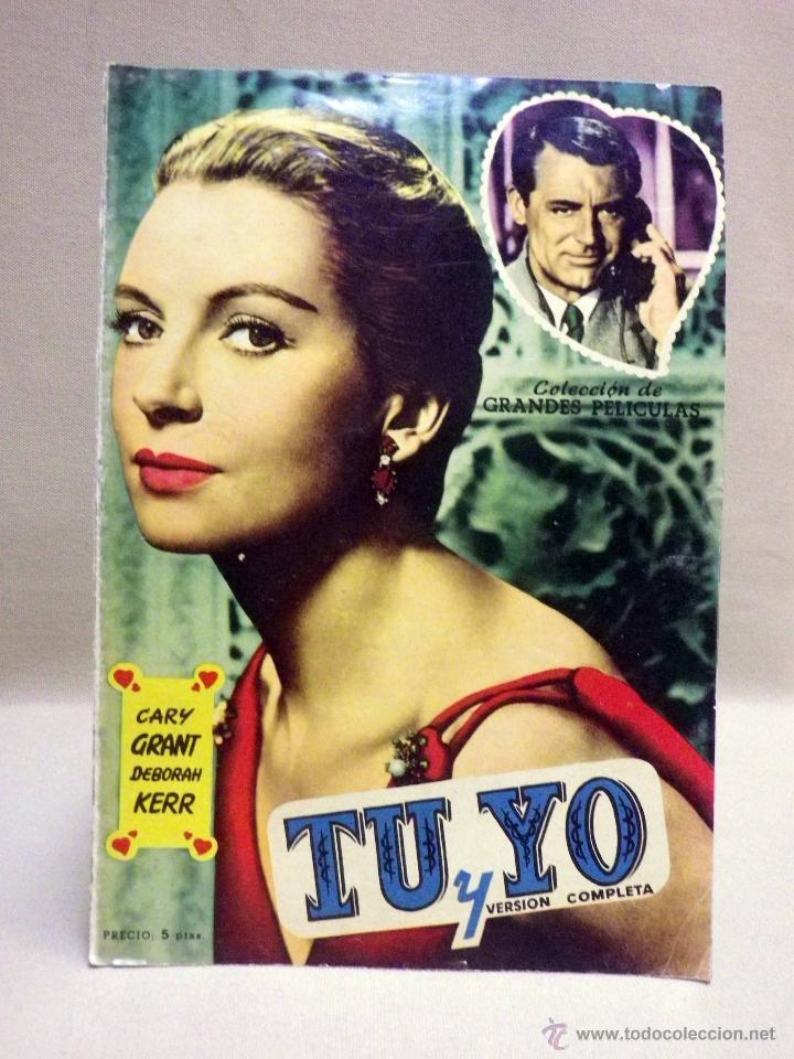 REVISTA, COLECCION DE GRANDES PELICULAS, TU Y YO, HISPANO FOXFILM (Cine - Revistas - Colección grandes películas)