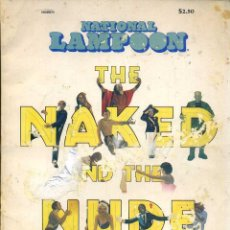 Cine: NATIONAL LAMPOON THE NAKED AND THE NUDE - HOLLYWOOD AND BEYOND (1976). Lote 42865543