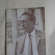 Cine: HOMENAJE A JEAN COCTEAU, DE CARLOS FERNÁNDEZ CUENCA. FILMOTECA NACIONAL DE ESPAÑA 1964. Lote 42885765