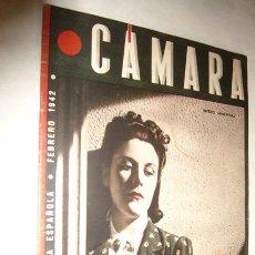 Cine: CÁMARA. REVISTA CINEMATOGRÁFICA ESPAÑOLA. Nº 5, FEBRERO 1942 - IMPERIO ARGENTINA. Lote 42913331