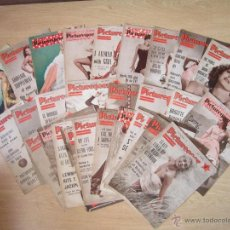 Cine: EXCELENTE LOTE DE 35 REVISTAS PICTUREGOER. ENTRE NOVIEMBRE 1954 Y SEPTIEMBRE 1956.. Lote 43059720
